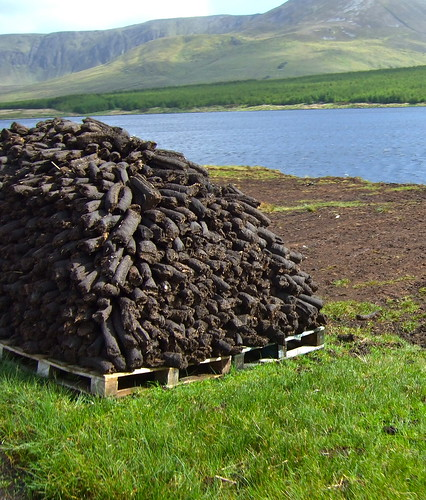 drying peat