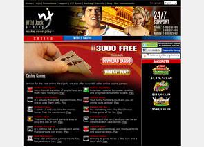 WildJack Casino Home
