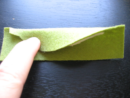 Felt Peapod Tutorial Step 2
