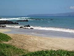 Palauea Beach (Dan Stanyer (Northern Pixel)) Tags: ocean vacation beach water canon fun island hawaii sand waves pacific maui powershot hawaiian boogie boarding d10 palauea