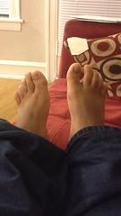 IMG_7088 (_bagent1) Tags: myfeet boyfeet chubbyfeet barefeet bearfeet thickfeet chubbytoes chubby chubbysoles soles slides sandals tops toes
