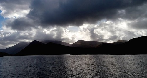 Clouds & padarn lake.