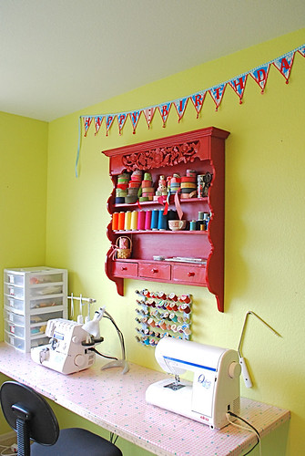 Sewing room spruce up