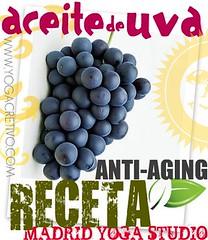 Aceite de Uva Anti-Edad!
