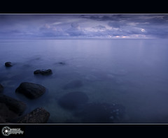as they kissed | Explore (rev_adan) Tags: trip morning travel blue sky mist seascape water clouds canon fun eos dawn early rocks long exposure tour angle tripod philippines under wide explore medina depth 1022mm mindanao uwa 40d pinoykodakero revadan garbongbisaya