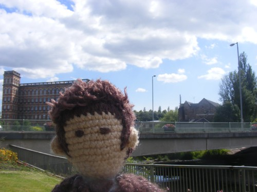 Tiny ten by the river in Paisley