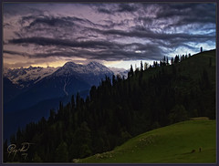 Grace of Life (IshtiaQ Ahmed (is Back)) Tags: life pakistan sunset mountains tourism colors beauty olympus grace east snowcapped valley thankful paya dslr kaghan range nwfp e500 makra mansehra kohistan 155km