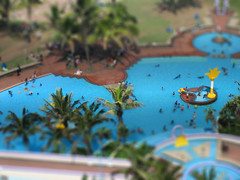 Baby pool (Raveesh Vyas) Tags: travel southafrica miniature random fake location archives unknown kiddiepool cantremember tiltshift babypool photoshopgiri psgiri
