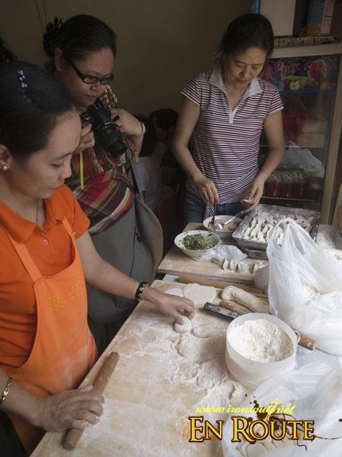 Mabuhay Guides Making Dong Bei Dumplings