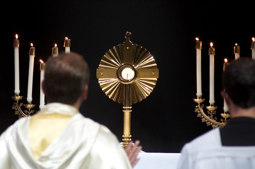 Exposition of the Blessed Sacrament 8