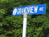 Street Sign for Grandview Ave