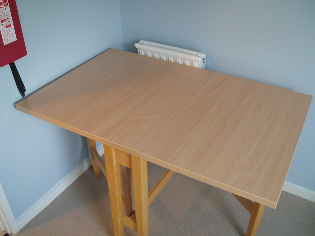 Say goodbye to my table!