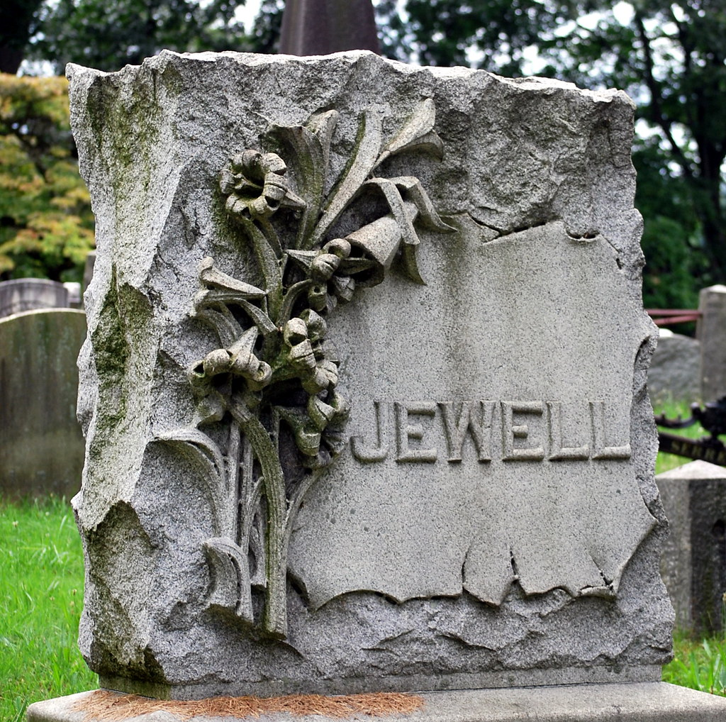 A Jewell of a Gravestone