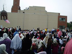 Minaret Capping Ceremony at the Islamic Society of Boston Cultural Center (ISBCC) in Roxbury