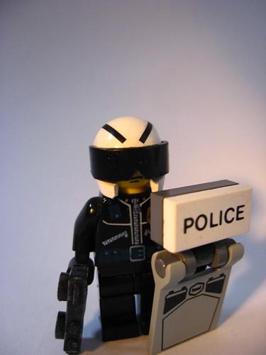 future police custom minifig