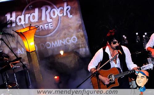 Beto Cuevas, Hard Rock Cafe.