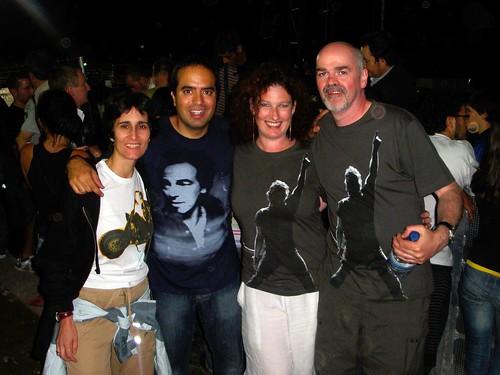 24 Carmina, Nacho, Kath y Fletch en Santiago