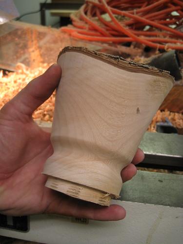 profile of Jacaranda bowl rough