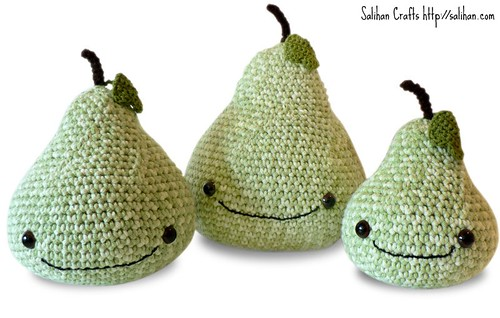 Amigurumi Pears