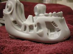 lower jaw - crisp mould lines! (luvsdaheat) Tags: model vinyl kit terminator t2 the endoskeleton endoskull