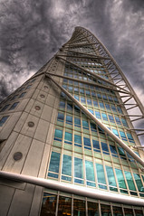 Turning Torso (HDR) (skweeky ) Tags: skyscraper sweden torso malm hdr turning sigma1020mmf456exdchsm