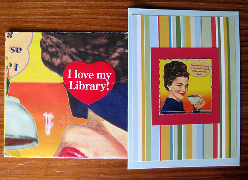 I love my Library! card