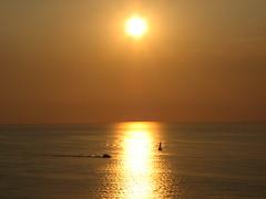 tramonto su tropea (domeniko) Tags: calabria tropea tirreno tramontosulmare solerosso