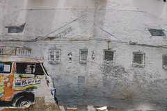 painter (romana klee) Tags: blue india house color building film w