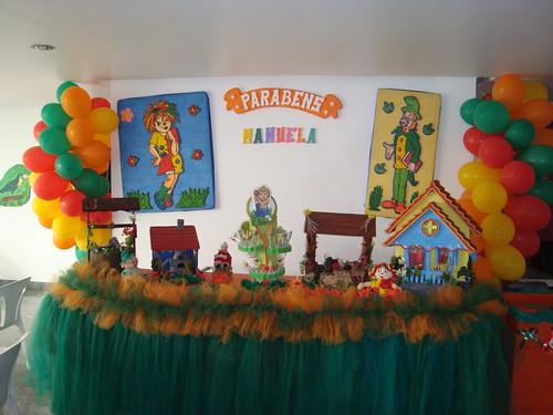 Festa de 5 anos que realizamos no dia 29 08 09 o tema era sítio do