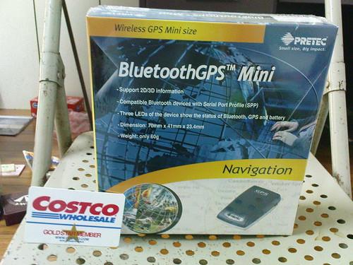 GPS藍牙接收器