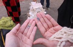 Susan & Lara's Tiny Tarot Fortunes (susanhobbs) Tags: sanfrancisco bakerbeach september2009 balsaman