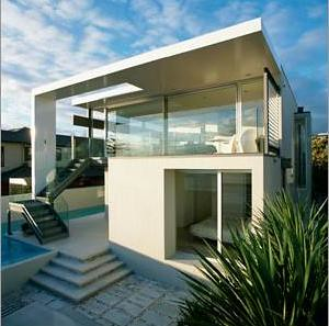 Desain Rumah Modern , Contemporary Architectural in Urban Coastal House Design