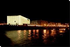 EL KURSAAL-SAN SEBASTIÁN/DONOSTIA (PAÍS VASCO-SPAIN) (ABUELA PINOCHO ) Tags: españa noche mar spain nocturna sansebastian ria donostia reflejos kursaal