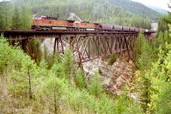 Sheep Creek bridge (sth475) Tags: usa mt scan bnsf lowres glaciernp