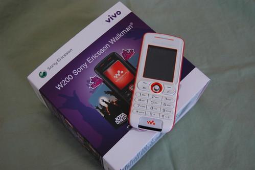 Celular Sony Ericsson brinde da Vivo