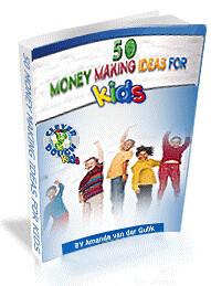 50 Money Making Ideas for Kids by choosyhomeschooler