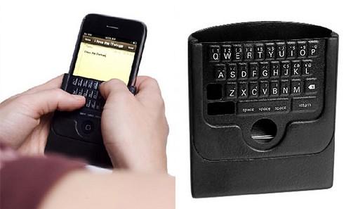 iTwinge iPhone的皮套假鍵盤