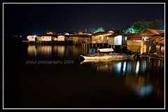 Houses on Stilts (choui168) Tags: longexposure nightshot cebu mactan cebusugbo cebuphotoorg