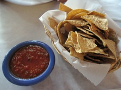 zapata - tortilla chips and salsa