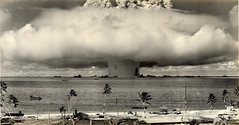 1946 ... Baker Shot- Bikini Atoll 'Operation-Crossroads' (x-ray delta one) Tags: america vintage advertising poster bravo media russia propaganda aircraft nazis hitler sac nuclear nostalgia bikini 1950s ww2 americana civildefense capitalism bigbrother atomic populuxe nato leningrad stalin coldwar worldwar2 mig aerospace atomicbomb ussr worldwar1 icbm airtoair mig21 strategicaircommand communisim departmentofenergy ww3 worldwar3 greatpatrioticwar atomicwar warsawpact hydrogenbomb operationcrossroads b48 thermonuclearwar kiloton nucleardeterent b48tornado atomicannihilation atomicairplane