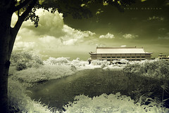 civilization and new generation ( DocBudie) Tags: ir infrared medan vihara maitreya nikond200 northsumatra v96 mahaviharamaitreya cemaraasri