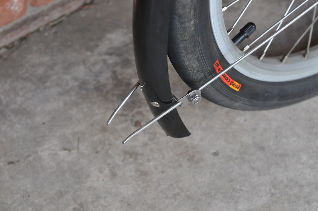 On both fenders, I now have skewers that can be used for roasting marshmallows or hot dogs at the drop of a hat.