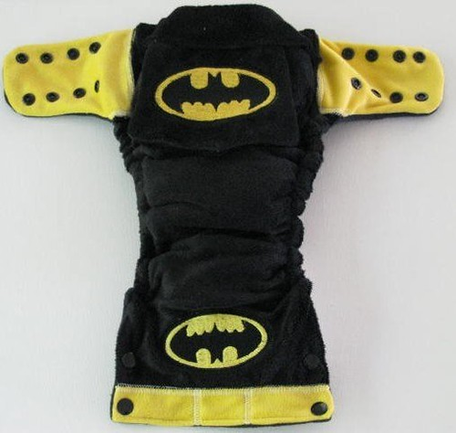 Batman Nappy (open)