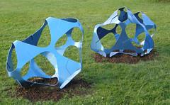 2007-12-23-Stoneleigh-2007-25-02-Delta 11 and Delta 13 (russellstreet) Tags: newzealand sculpture auckland nzl manukau aucklandbotanicalgardens chiaracorbelletto sculpturesinthegarden2007 stoneleighsculpturesinthegarden2007 delta11anddelta13