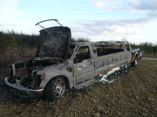 Ford Truck Limo Truck Limo Burnt Out
