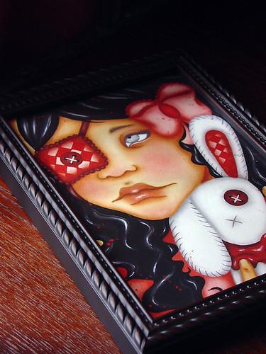 Sakura Print framed01