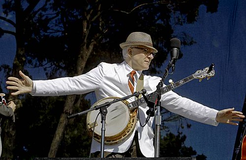 Steve Martin at the Hardly Strictly Bluegrass Festival, San Francisco - 10/3/09