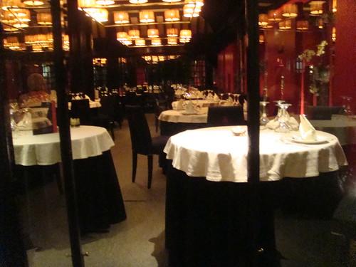 Salón interior del restaurante
