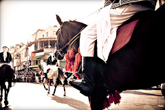 Horsing Around.. (SonOfJordan) Tags: road old city light people colour boys festival century canon balloons eos centennial downtown cityhall flag amman parade jordan theme 100 procession colourful cart xsi gam    450d      samawi  sonofjordan canoneosxsi450dsamawisonofjordan shadisamawi    wwwshadisamawicom