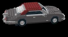 Jaguar XJ6 Coupe Series II (lego911) Tags: jaguar xj6 coupe seriesii moc auto car lego model ldd render cad lugnuts